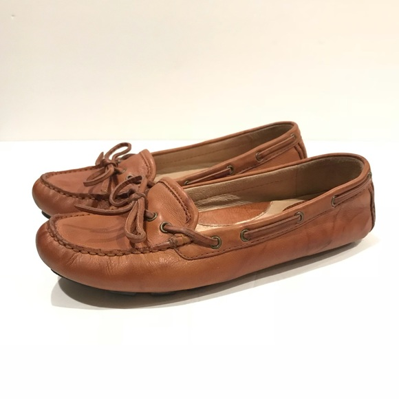 ce7c0fed05a Frye Shoes - Frye Reagan Driver flat moccasin loafer cognac 7.5